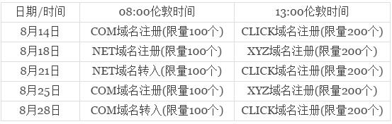 domain-promo-timetable